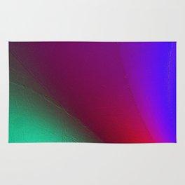 Rainbow colour waves Rug