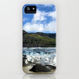 Glacial Blue iPhone Case