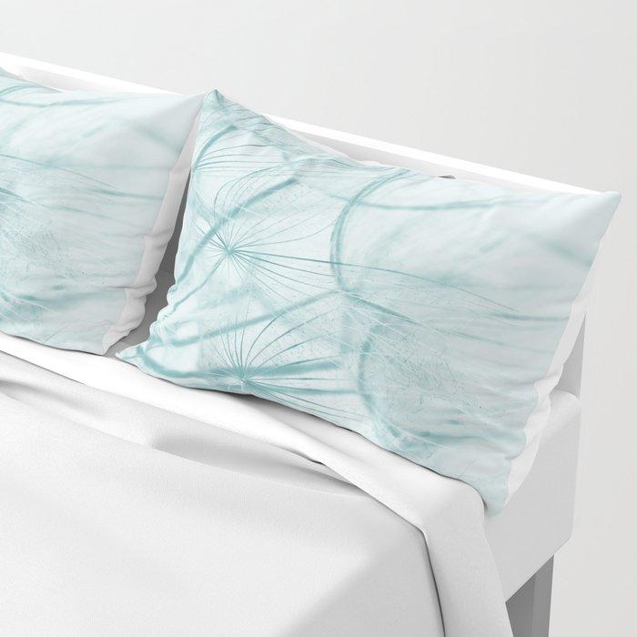 Dandelion In Blue Pillow Sham
