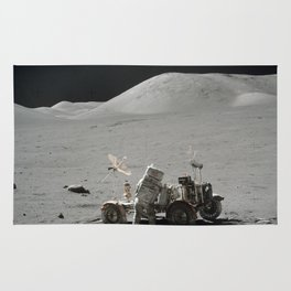 Apollo 17 - Lunar Rover Work Rug
