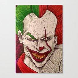 Killer Clowns Canvas Print