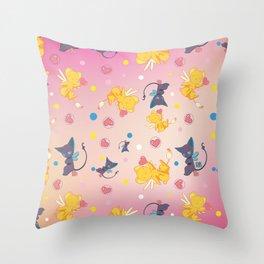 Spinell & Kerochan Pattern Throw Pillow