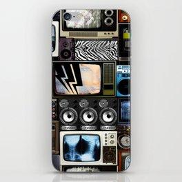 Retro Technology. iPhone Skin