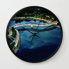 Heart of the Love River at Day Wall Clock