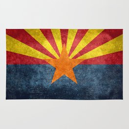 State flag of Arizona, the 48th state Rug