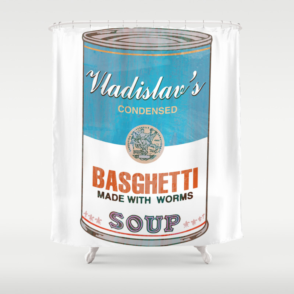 What We Do In The Shadows: Do You Like Basghetti? Shower Curtain by Madaramason CTN3406757