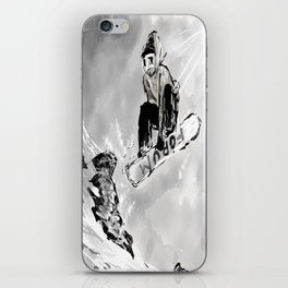 Tricks and Jumps  iPhone Skin