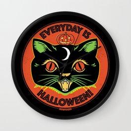 Everyday is Halloween Wall Clock