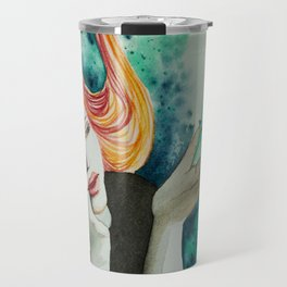 Red thread Travel Mug