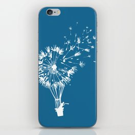 Going where the wind blows iPhone Skin