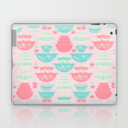Pink and Turquoise Everything Laptop & iPad Skin