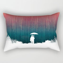 Meteoric rainfall Rectangular Pillow