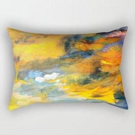 Sunset Detail Rectangular Pillow