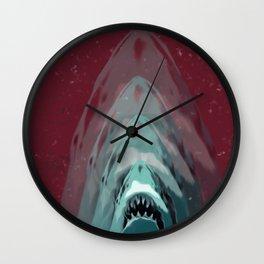 Minimalist Jaws  Wall Clock