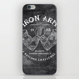 Iron Arm iPhone Skin