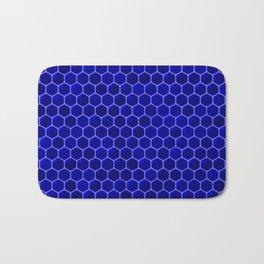 blue beehive Bath Mat
