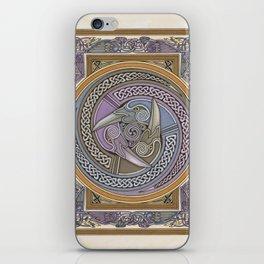 Triple Raven iPhone Skin