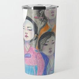 Those three women Travel Mug