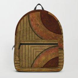 """""""Golden Circle Japanese Vintage"""" Backpack"""