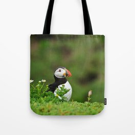 Puffin from Ireland  (RR 238) Tote Bag