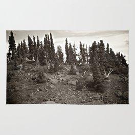 Alpine Landscape Rug