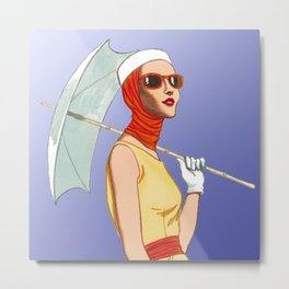 My Umbrella Metal Print
