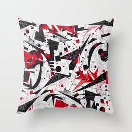 Constructivism Throw Pillow