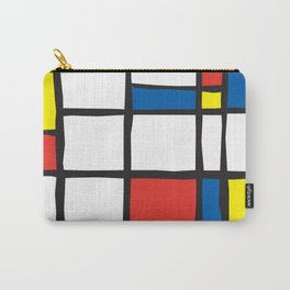 Mondrian Variation 2 Carry-All Pouch