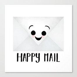 Happy Mail Canvas Print