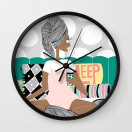 Bed Wall Clock
