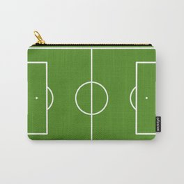 Football field fun design soccer field Carry-All Pouch