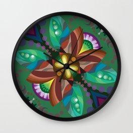 Eht-Hsalps Wall Clock