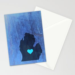 Mid Michigan Heart Stationery Cards