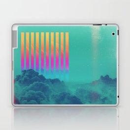 Striped sky Laptop & iPad Skin