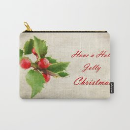 A Holly Jolly Christmas Carry-All Pouch