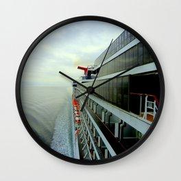 Crusing Alaska Wall Clock