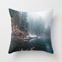 Grassi Lakes Throw Pillow