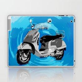 Vespa Blues Laptop & iPad Skin