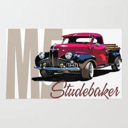 1947 M5 Studebaker pickup Rug