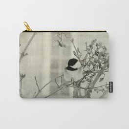 Where a Chickadee rests Carry-All Pouch