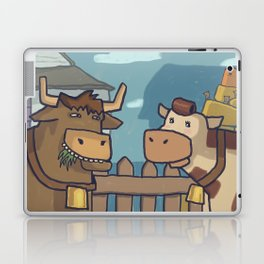 Pastoral squareness Laptop & iPad Skin