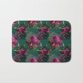 Beautiful Floral Garden Bath Mat