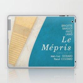Contempt, Le Mépris, Jean-Luc Godard, Fritz Lang, Brigitte Bardot, french film, new wave, vague Laptop & iPad Skin