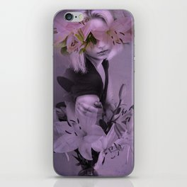 The girl who wanted to be a flower iPhone Skin
