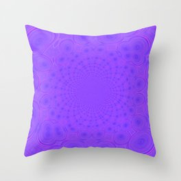 Purples and Pink Throw Pillow