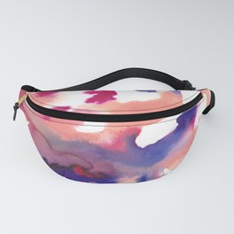 15   | Color Flow | 190531 Watercolor Abstract Painting | Fanny Pack
