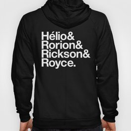 Jiu-Jitsu Gracie Family Names Hoody
