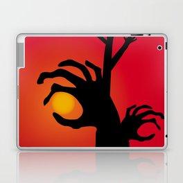 Halloween Raising Ghost Hands Laptop & iPad Skin