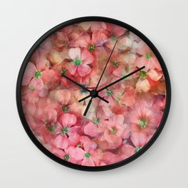 Spring is in the Air 6 Wall Clock