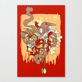 Magpie's Nest Canvas Print